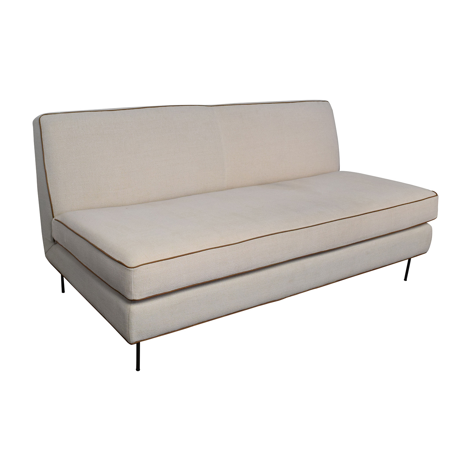 56 off west elm west elm commune armless sofa sofas for Best west elm sofa