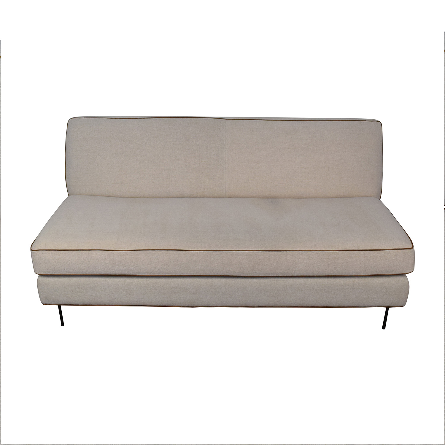 ... West Elm West Elm Commune Armless Sofa Dimensions ...