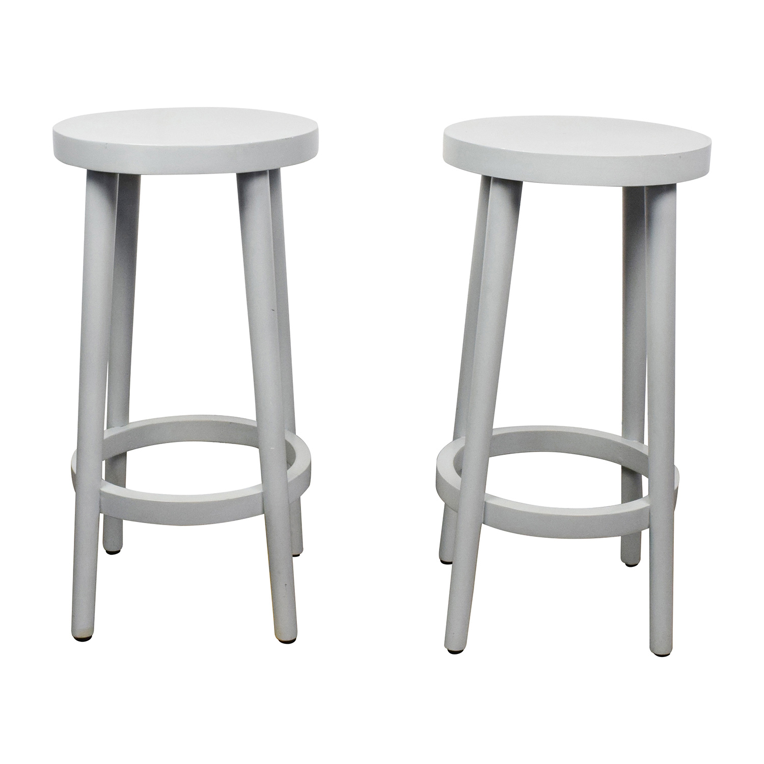 Surprising 55 Off West Elm West Elm Counter Bar Stools Chairs Bralicious Painted Fabric Chair Ideas Braliciousco