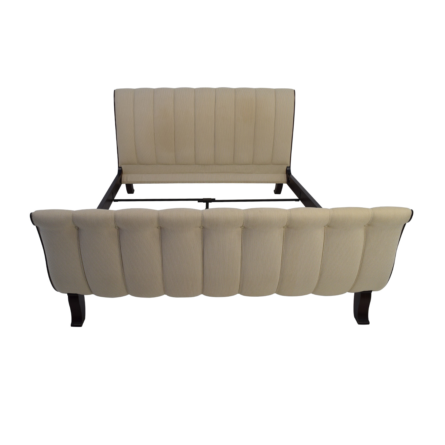 shop Lillian August Upholstered King Sleigh Bed Frame Lillian August Beds
