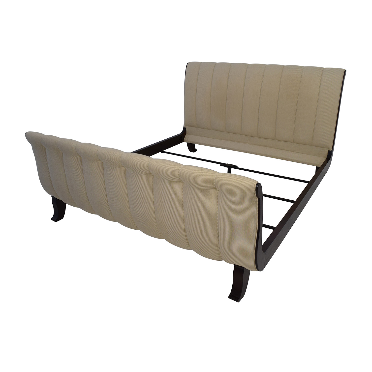 90 off lillian august lillian august upholstered king for Home furniture beds