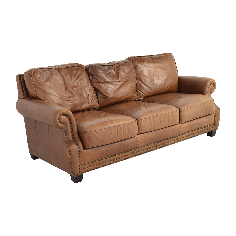 Safavieh Couture Safavieh Couture Brayton Leather Sofa discount
