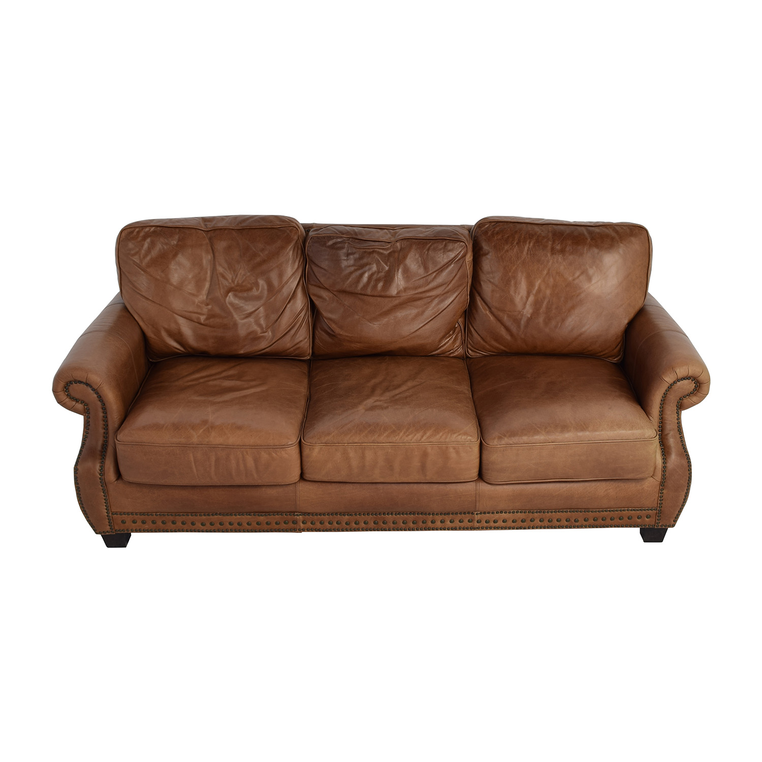 Used Brown Leather Sofa Leather Reclining Sofa Ebay Thesofa