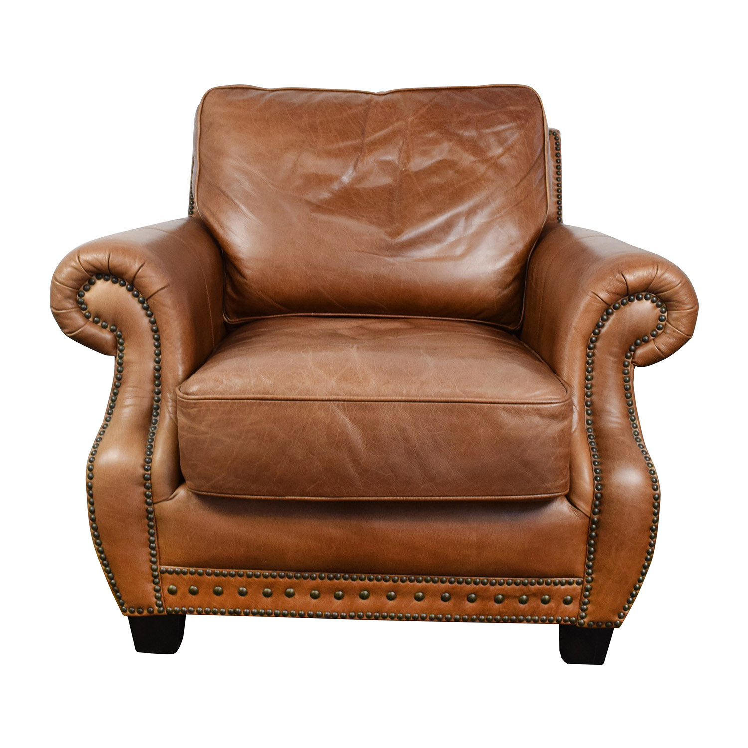 Safavieh Couture Safavieh Couture Brayton Leather Chair price