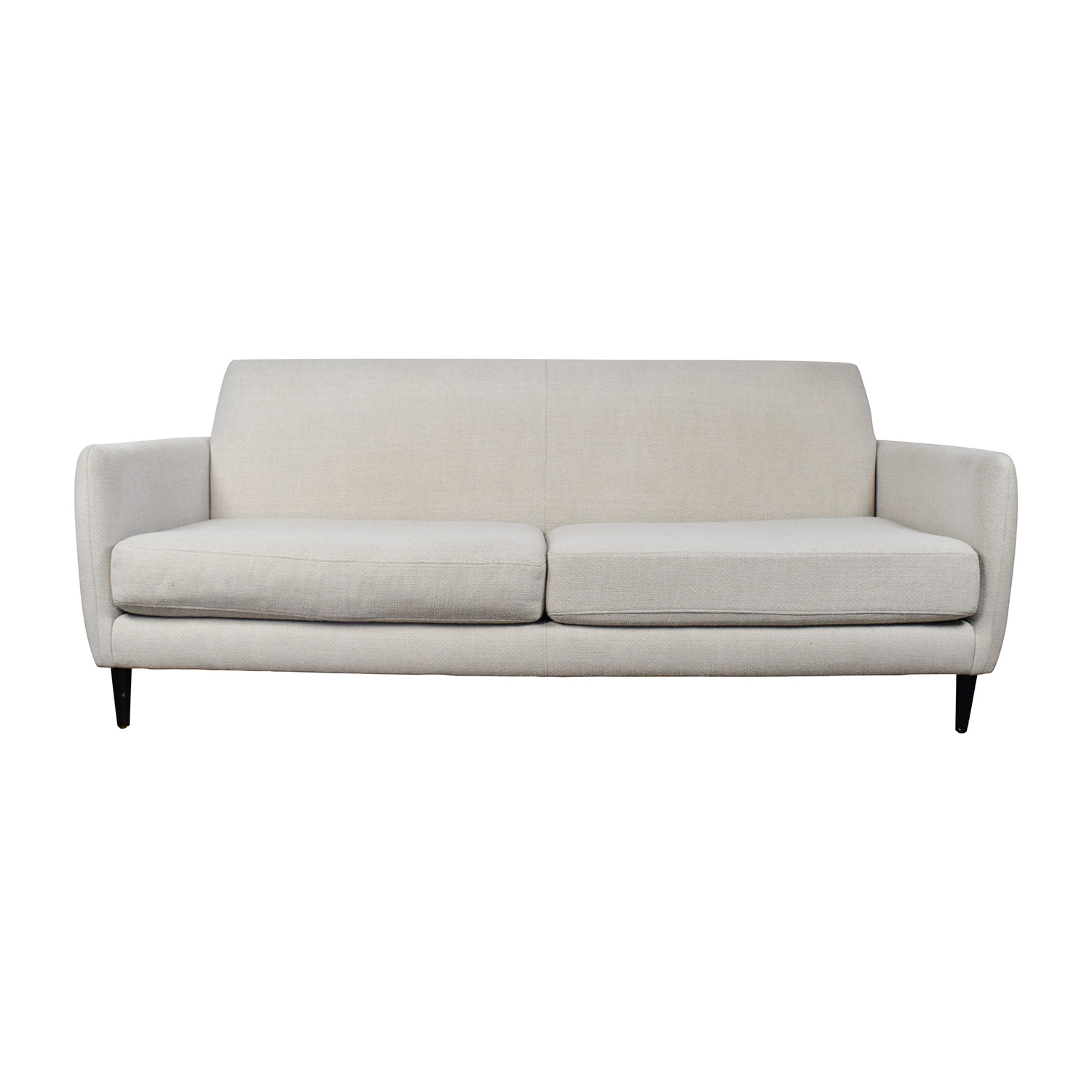 buy CB2 Beige Danish Parlour Sofa CB2