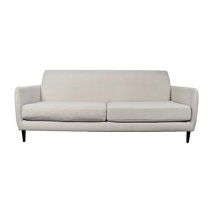 CB2 CB2 Beige Danish Parlour Sofa dimensions