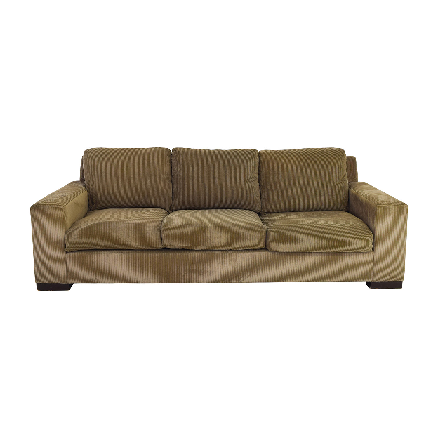 Z Gallerie Z Gallerie Dark Forest Pinstripe Three Seat Sofa Nj ...