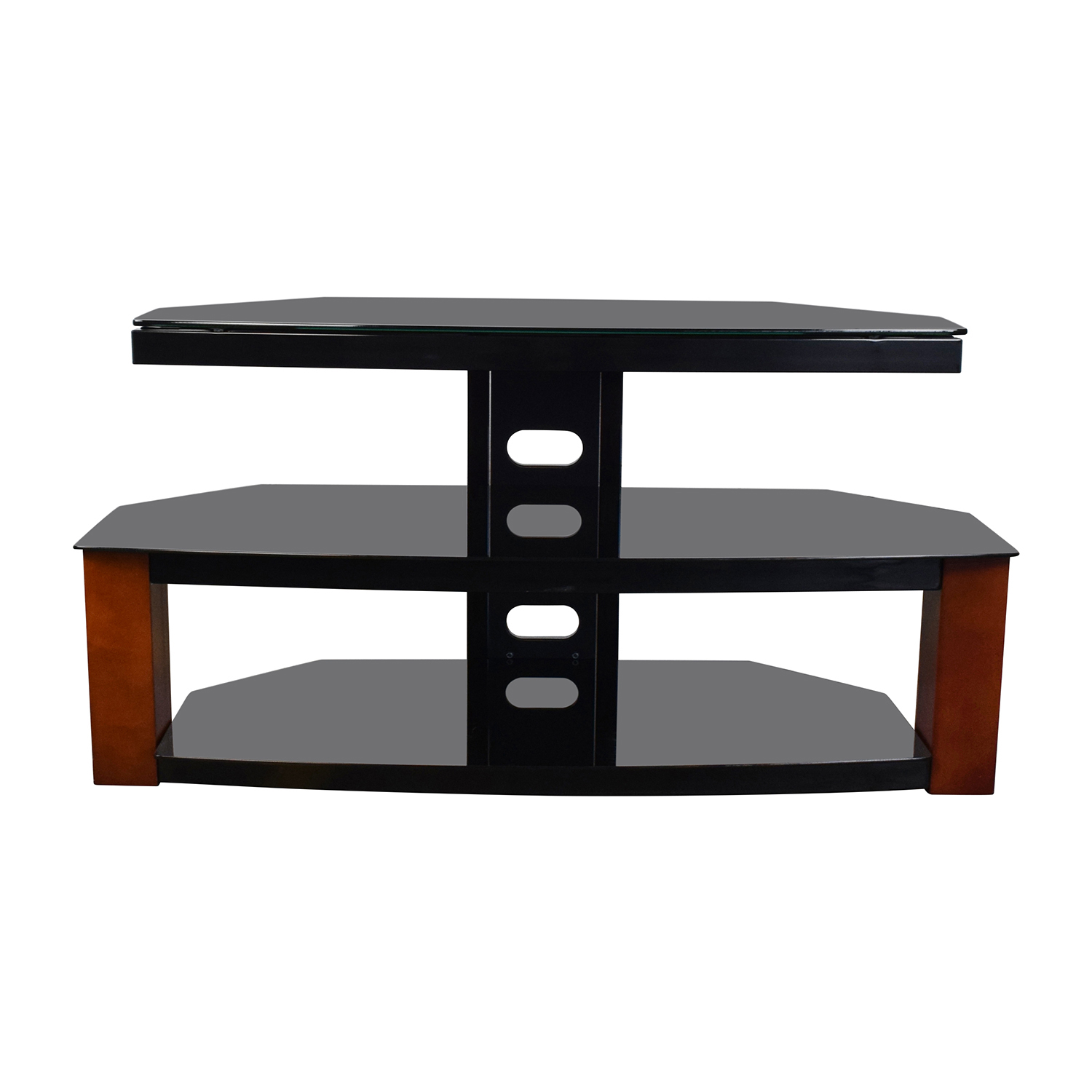 Black & Brown TV Stand nyc