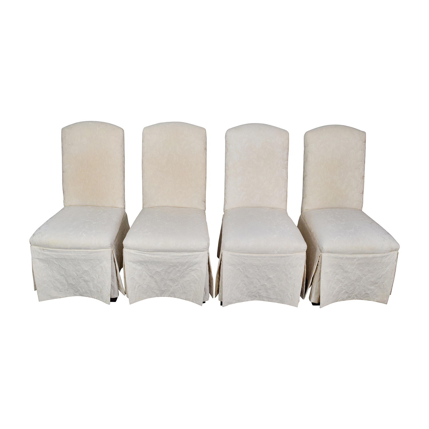 Upholstered Dining Room Chairs For Sale : thomasville ivory upholstered dining chairs used from chairs52.com size 1500 x 1500 jpeg 269kB