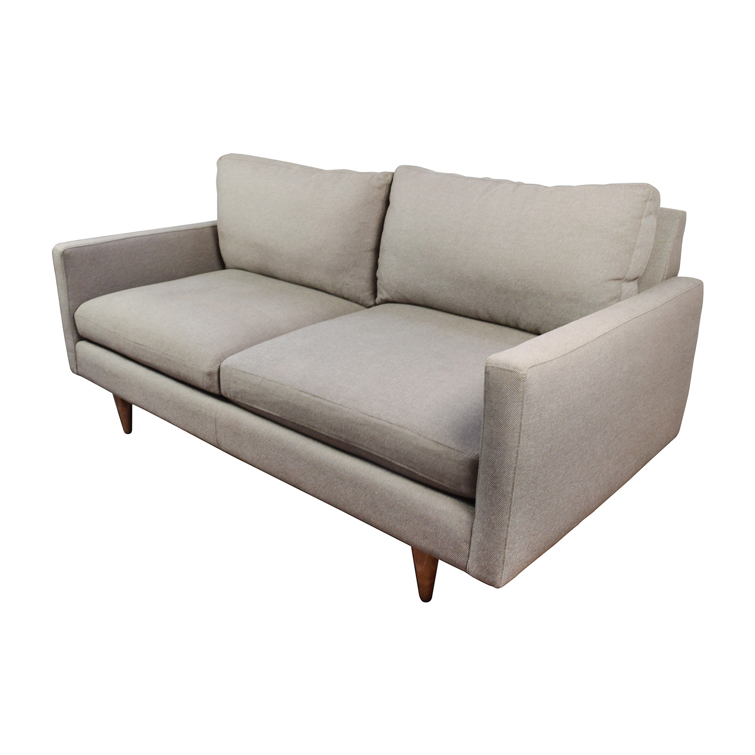 ... Room And Board Room U0026 Board Grey Jasper Sofa Discount ...