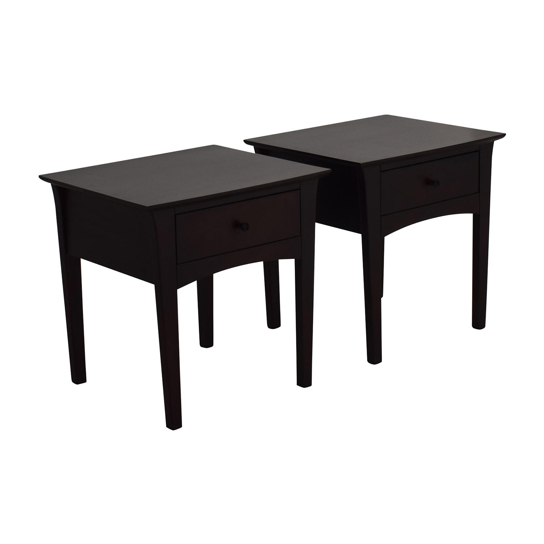 Gentil 70% OFF   Crate U0026 Barrel Crate U0026 Barrel Baronet Nightstands / Tables