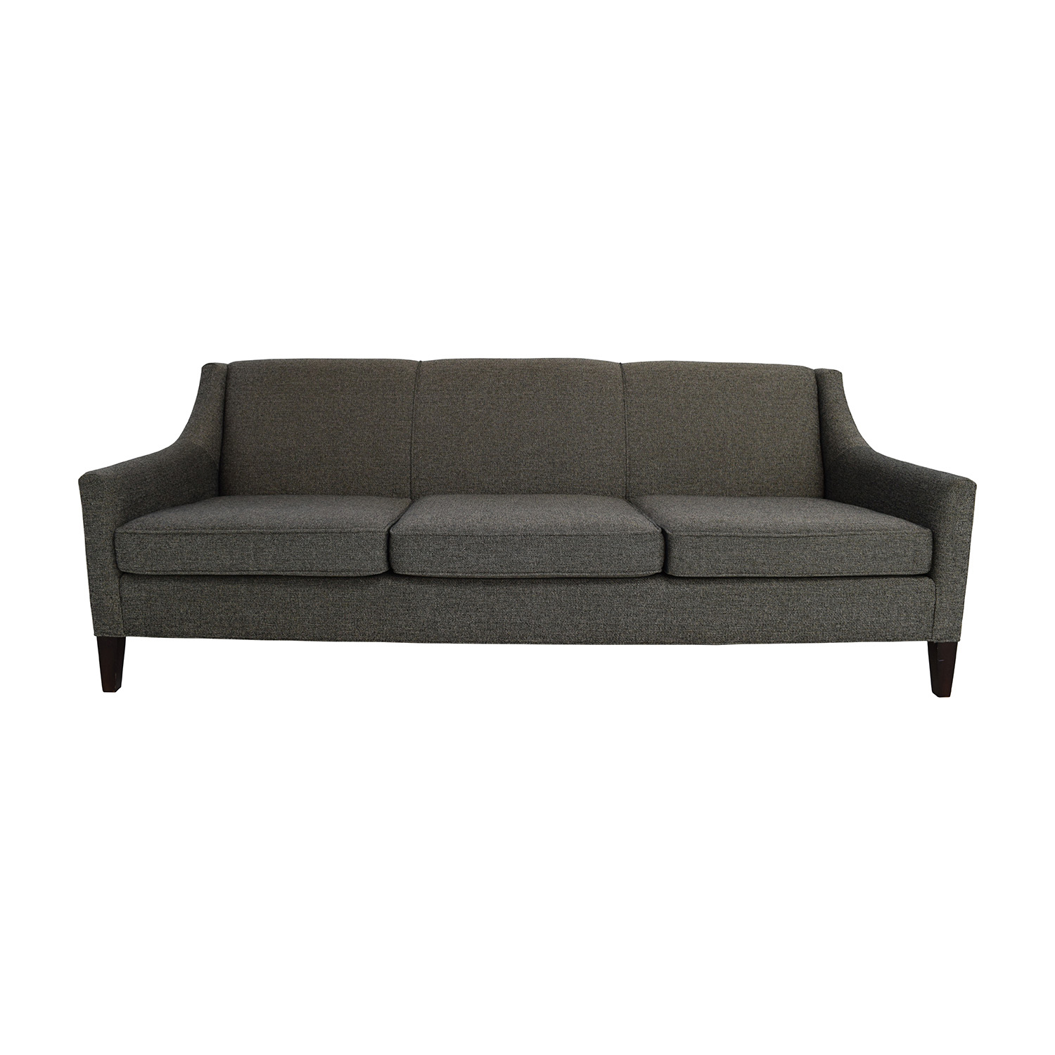 shop Mitchell Gold + Bob Williams Cara Grey Sofa Mitchell Gold and Bob Williams Sofas
