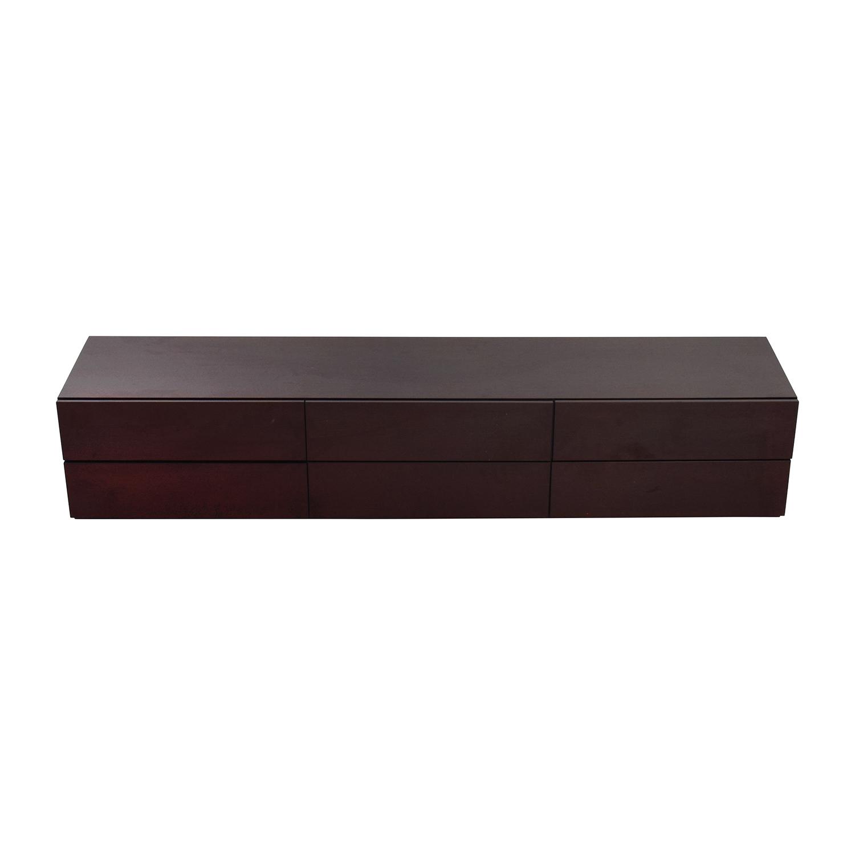 buy Italian Wood Six-Drawer Dresser