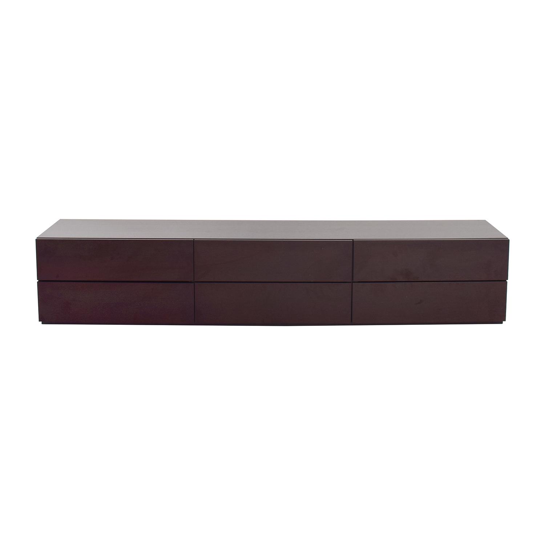 shop Italian Wood Six-Drawer Dresser  Dressers