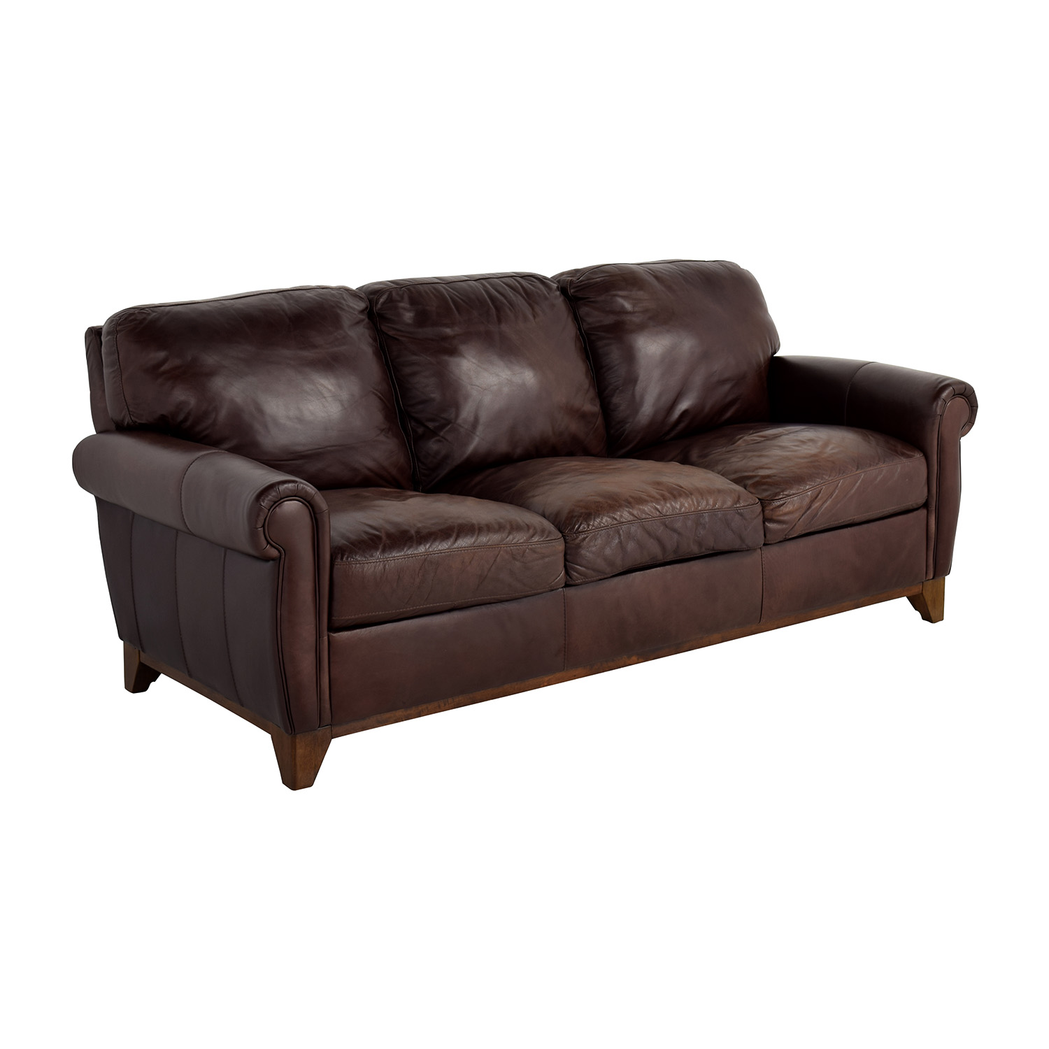 Raymour and flanigan brown sofa bed refil sofa for Couch und sofa