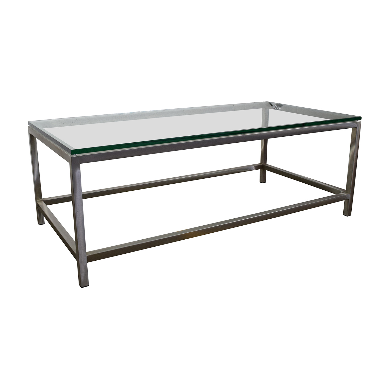 Crate And Barrel Black Marble Coffee Table: Crate And Barrel Crate & Barrel Era Rectangular