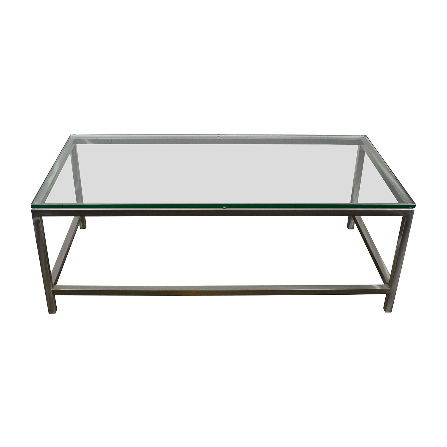 Crate and Barrel Crate & Barrel Era Rectangular Coffee Table Coffee Tables