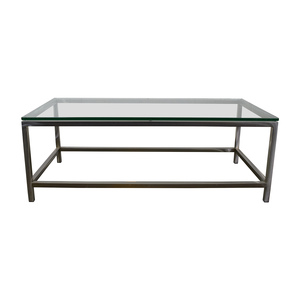 buy Crate and Barrel Crate & Barrel Era Rectangular Coffee Table online