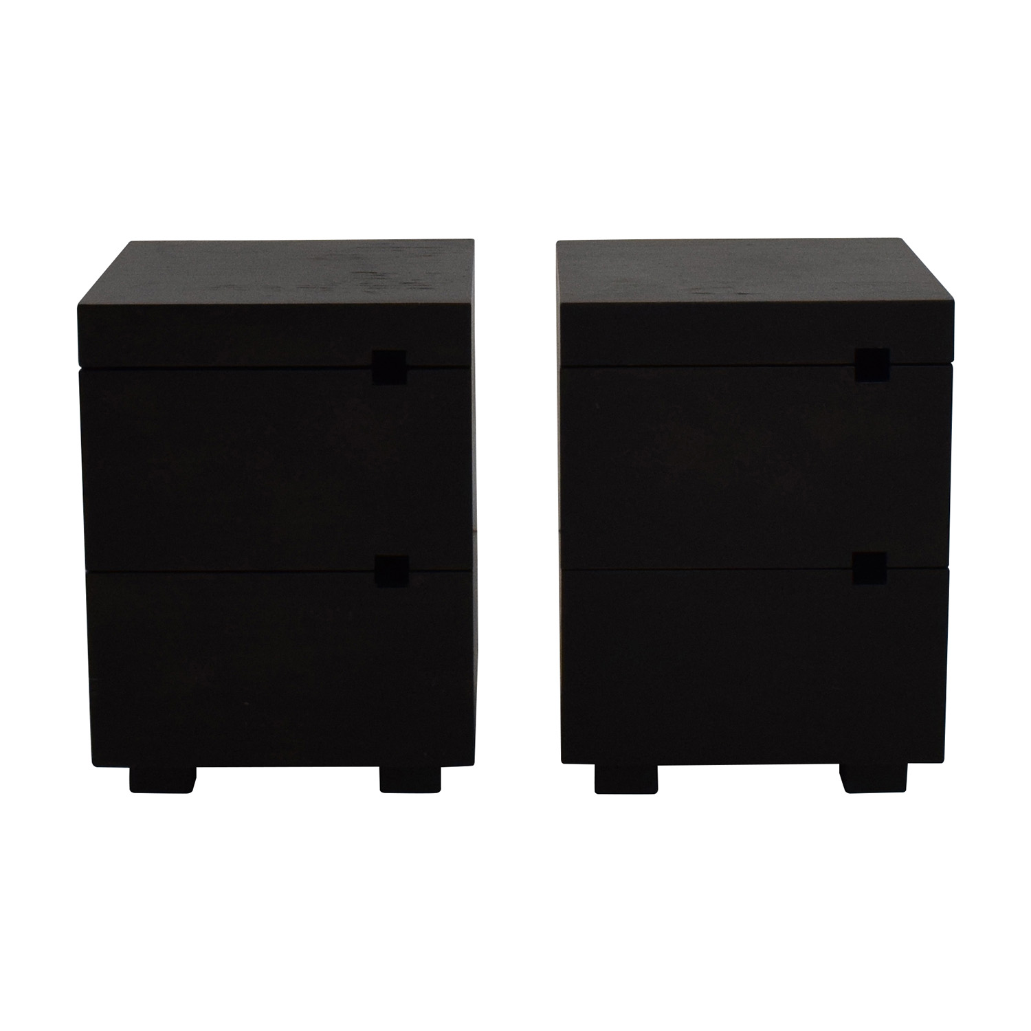 West Elm West Elm 2-Drawer Nightstand Pair Tables