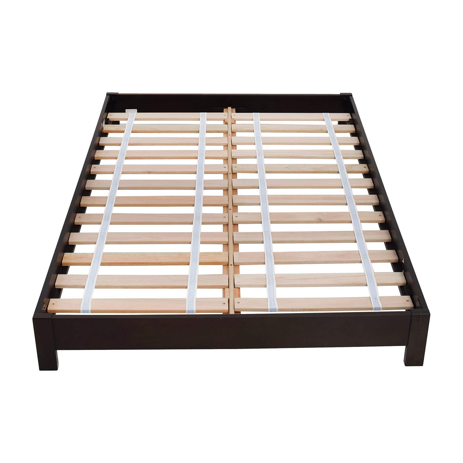 West Elm Simple Low Full Size Platform Bed Frame Beds
