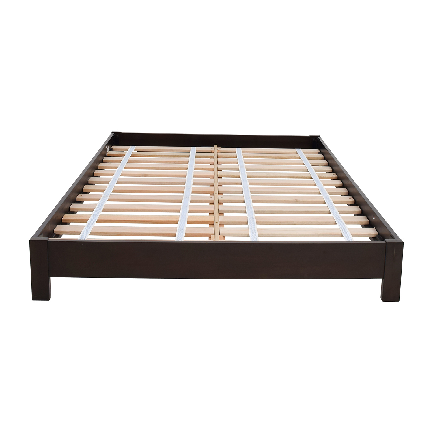 44% OFF - West Elm West Elm Simple Low Full Size Platform Bed Frame / Beds