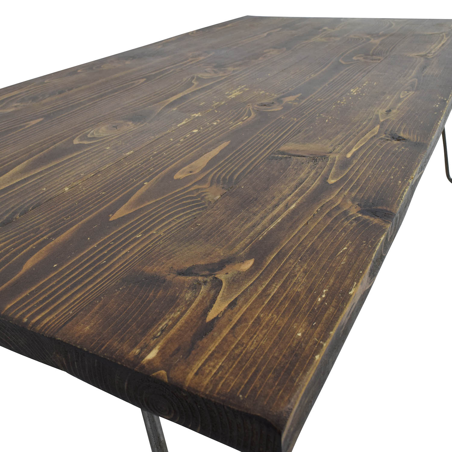 61% OFF Custom Made Rustic Reclaimed Wood Coffee Table Tables