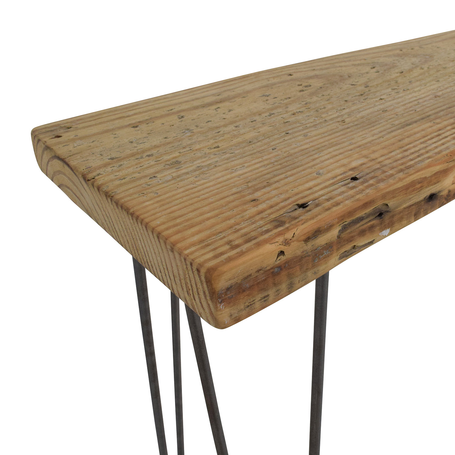 35 Off Custom Rustic Reclaimed Wood Console Table Tables