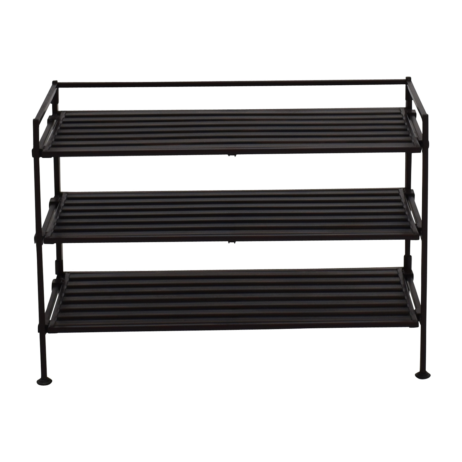 Seville Classics Resin Shoe Rack / Utility Tables