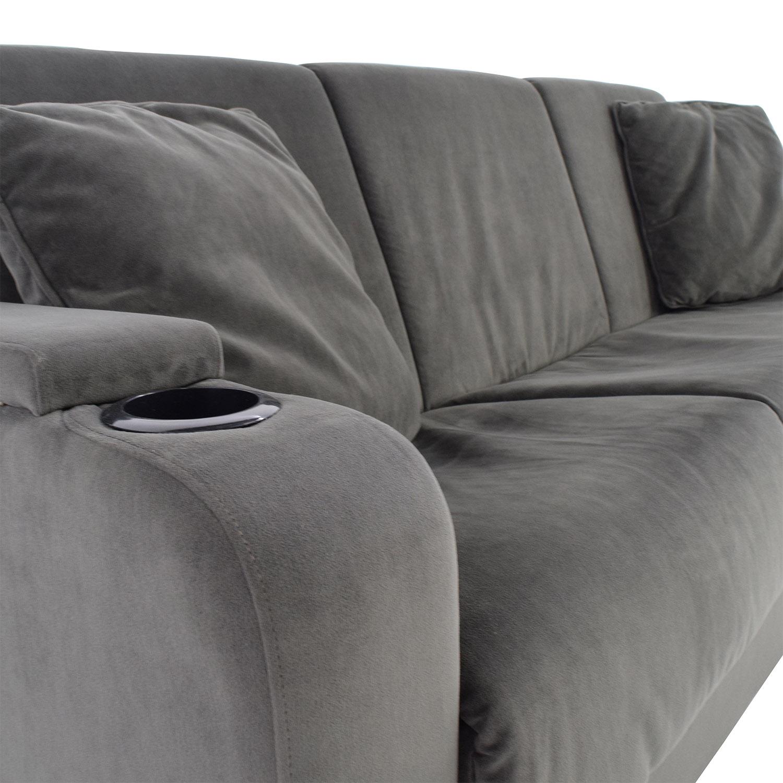 shop Handy Living Olivia Convert-a-Couch Sleeper Sofa Handy Living Classic Sofas