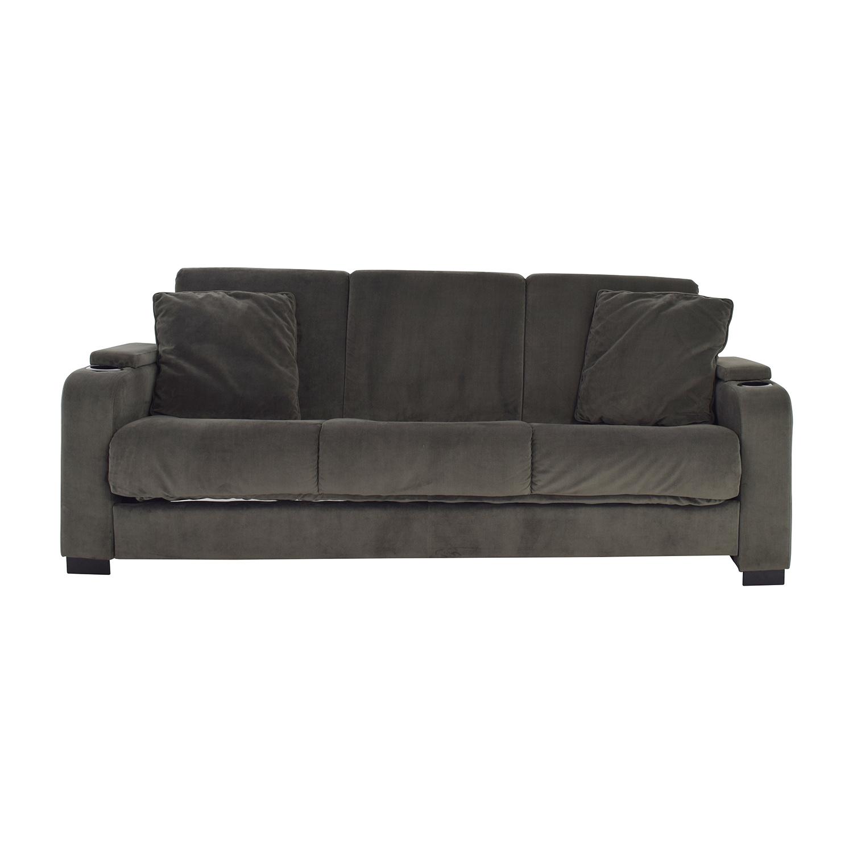 Handy Living Olivia Convert A Couch Sleeper Sofa Sofas