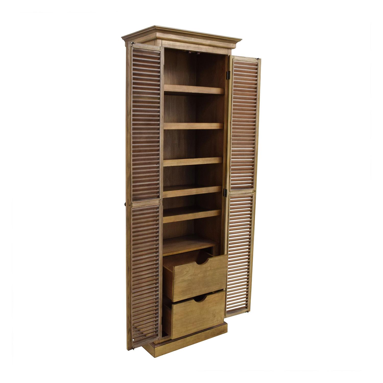 ... Coaster Rustic Two-Door Storage Cabinet Coaster Furniture ...  sc 1 st  Furnishare & 51% OFF - Coaster Furniture Coaster Rustic Two-Door Storage Cabinet ...