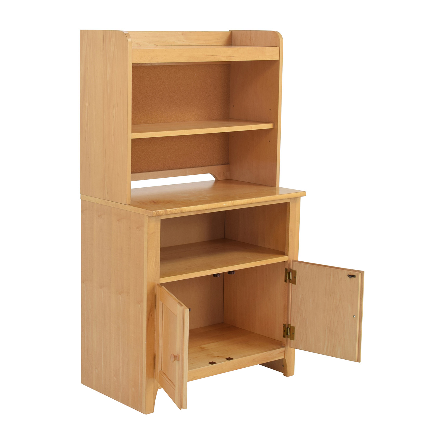 Stanley Furniture Maple Hutch Bookcases Shelving