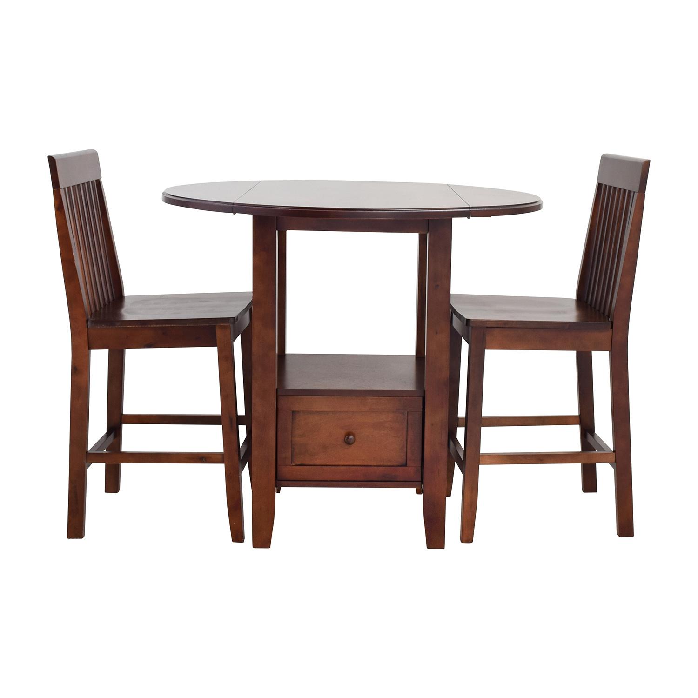 Etonnant Threshold Threshold Pub Table Set Used