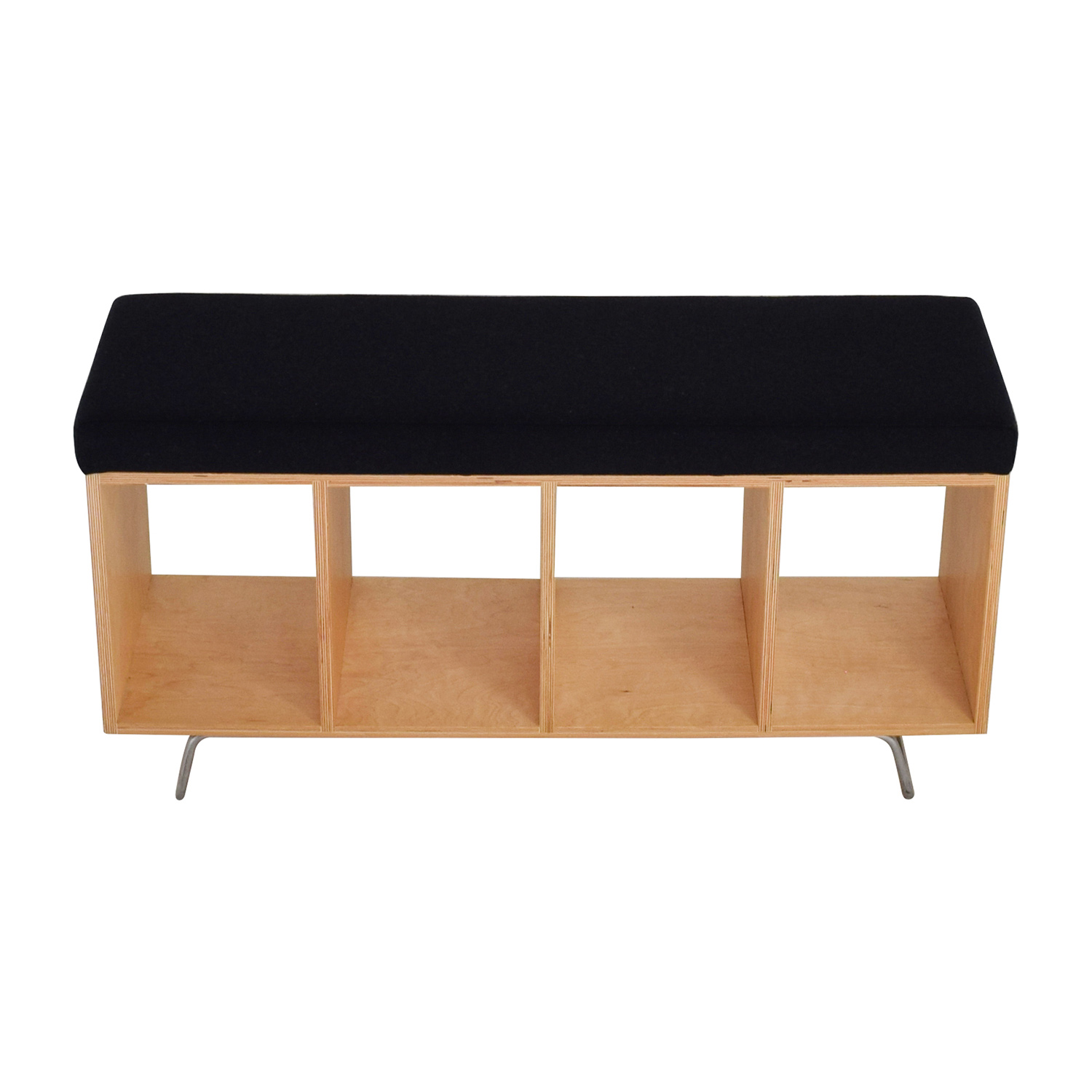 buy offi &co Bench Bookcase With Seating Cushion online