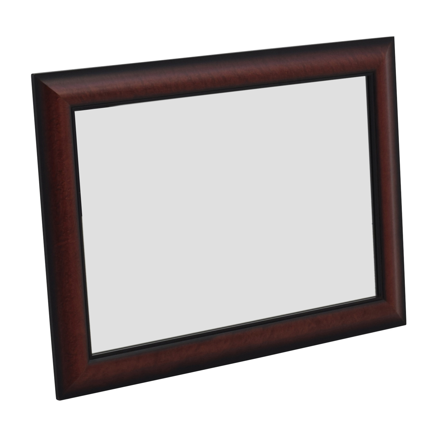 73 Off Cherry Wood Rectangular Wall Mirror Decor