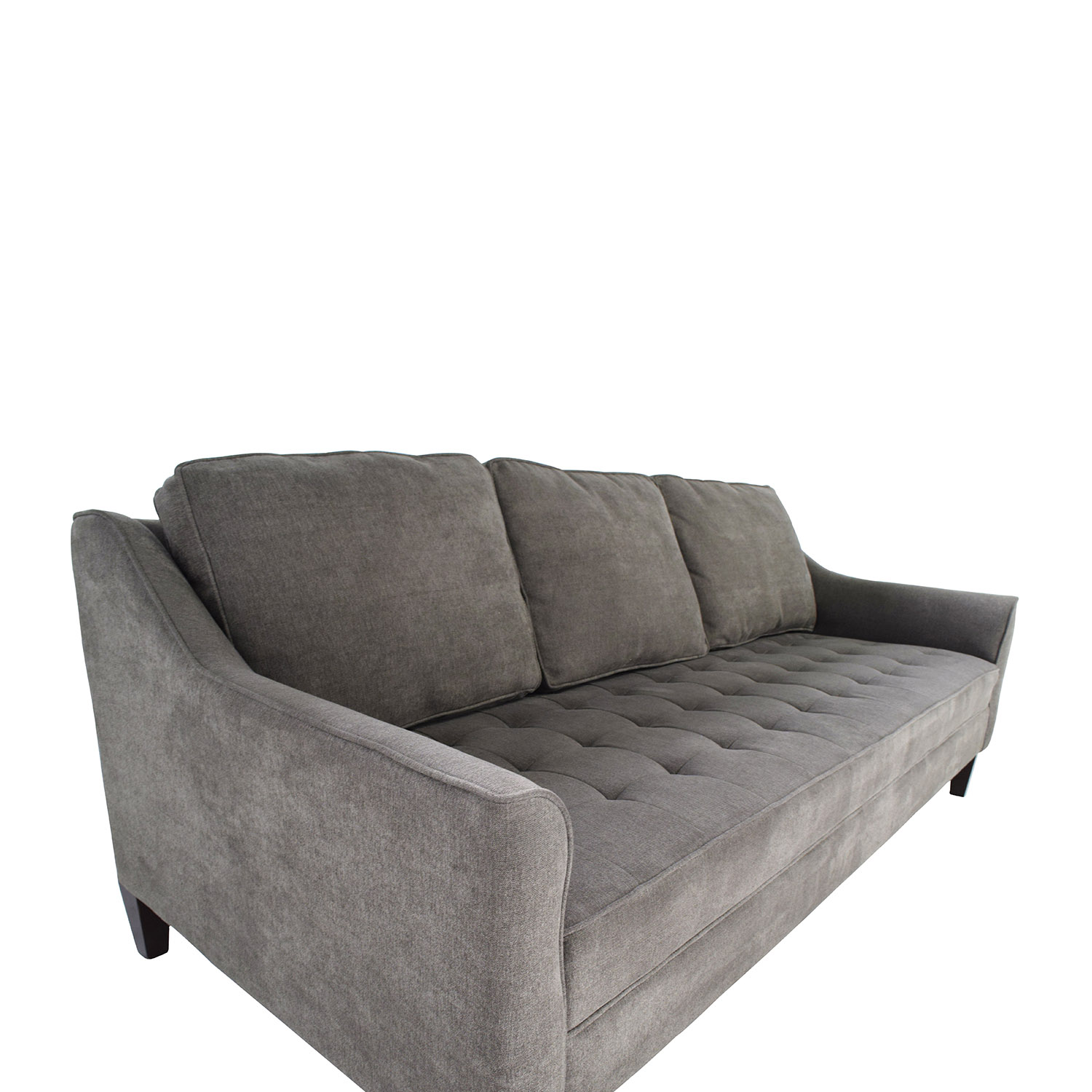 51% OFF Haverty s Haverty s Parker Sofa in Grey Sofas