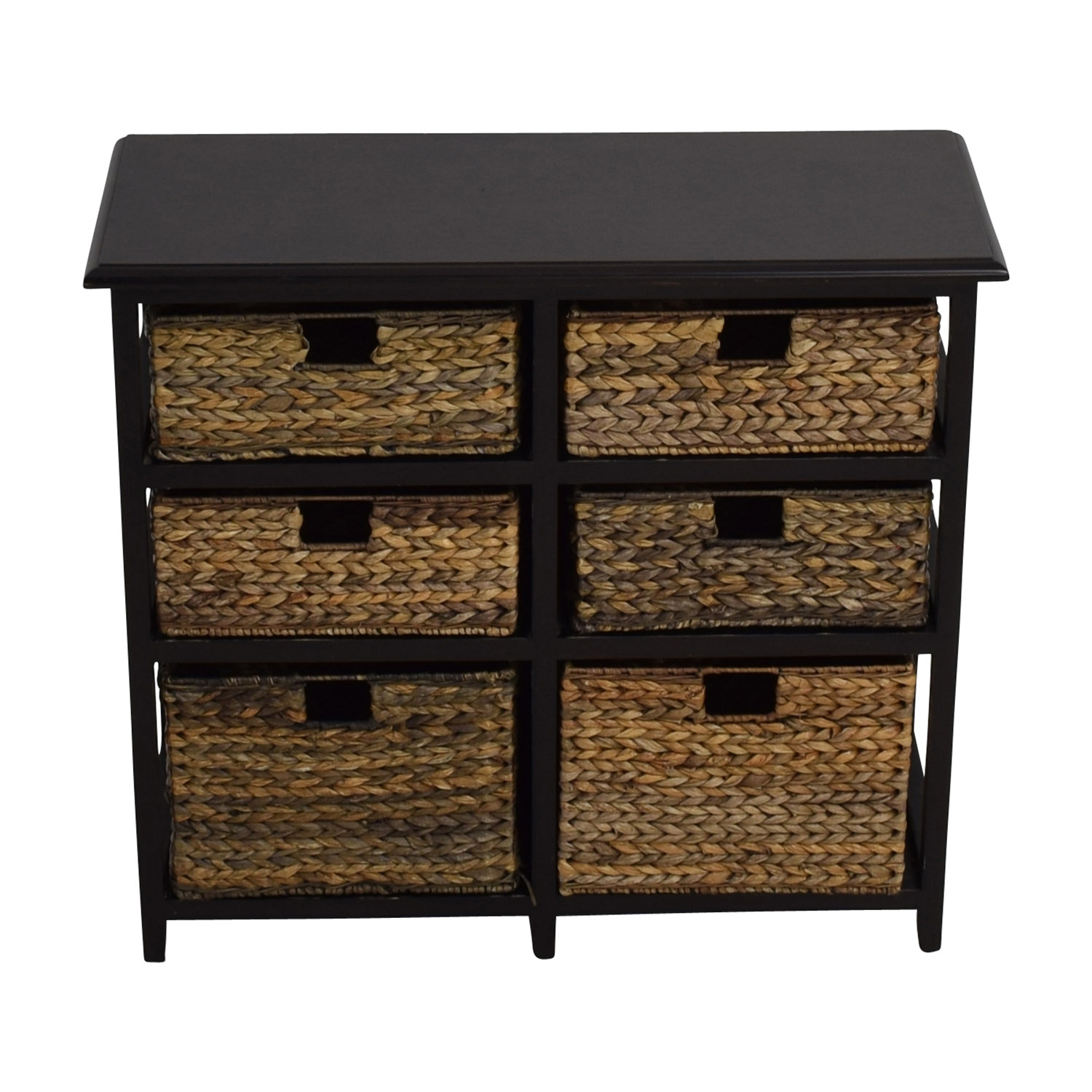... Pier 1 Imports Pier 1 Imports Black Wicker Storage Drawers Coupon ...