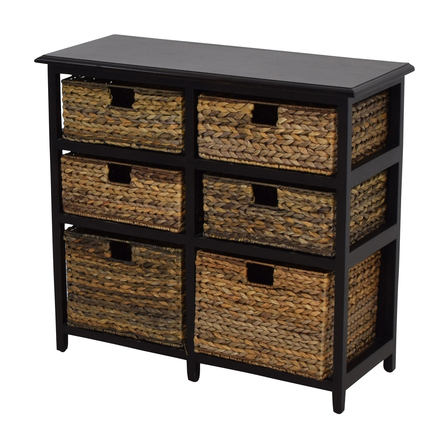 Great ... Pier 1 Imports Pier 1 Imports Black Wicker Storage Drawers Black ...
