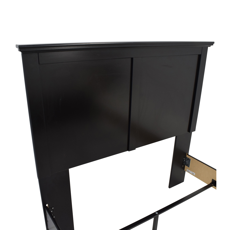 Ashley Maribel Ashley Maribel Simple Panel Headboard Full Bed Frame second hand