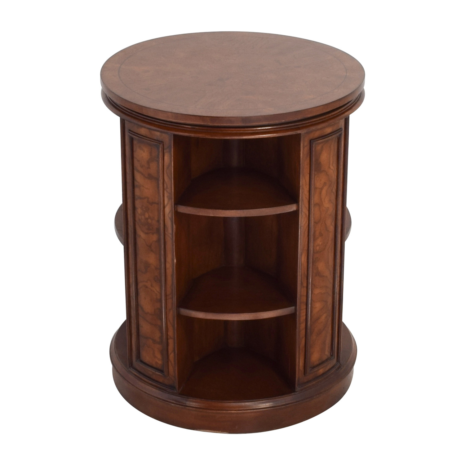 Safavieh Rotating Side Table Bookcase / Tables