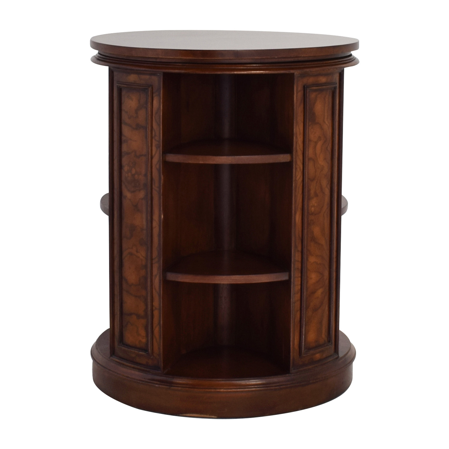 Safavieh Safavieh Rotating Side Table Bookcase