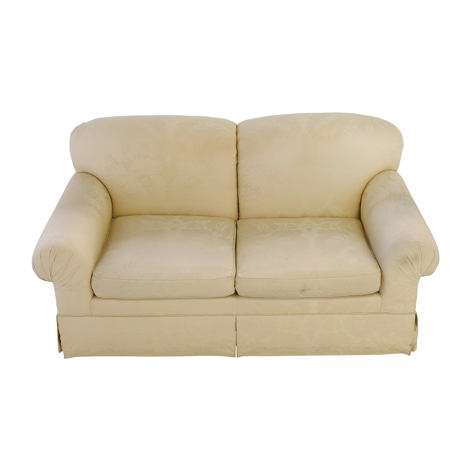 Ralph Lauren Ralph Lauren Silk Brocade Oversized Loveseat on sale