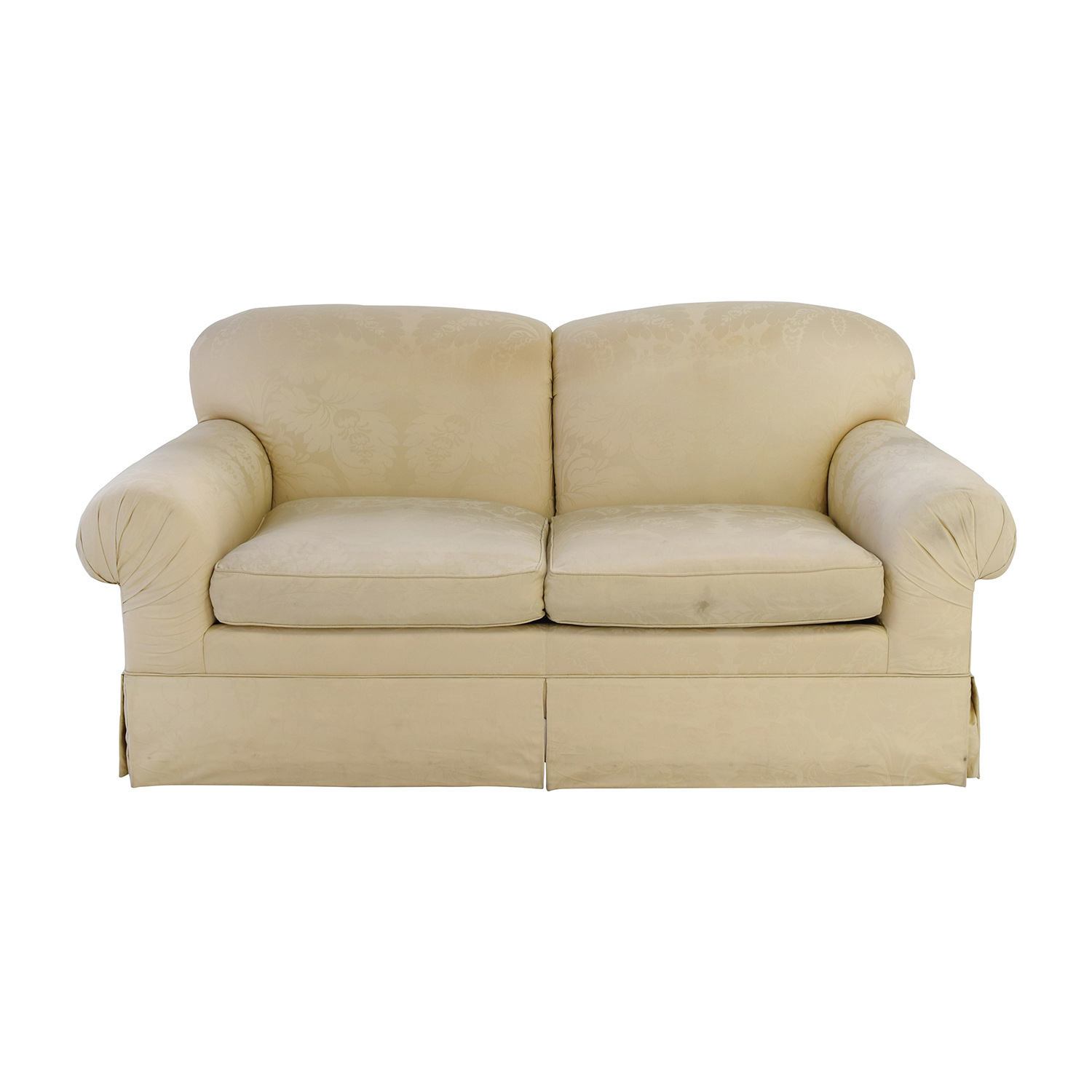 Ralph Lauren Ralph Lauren Silk Brocade Oversized Loveseat nyc