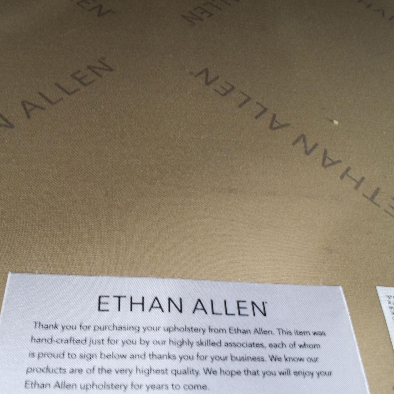 buy Ethan Allen Arcata Gray Loveseat Ethan Allen