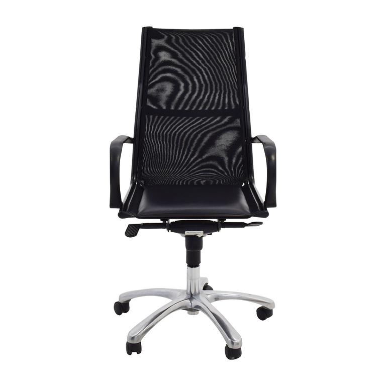 ERG International ERG International Black Office Chair discount