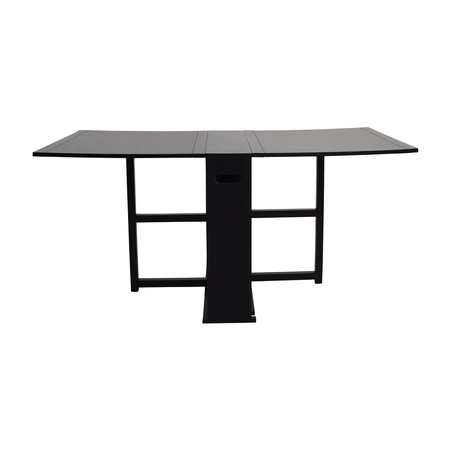 Crate and Barrel Crate & Barrel Gateleg Drop Leaf Fold Away Dining Table Dinner Tables