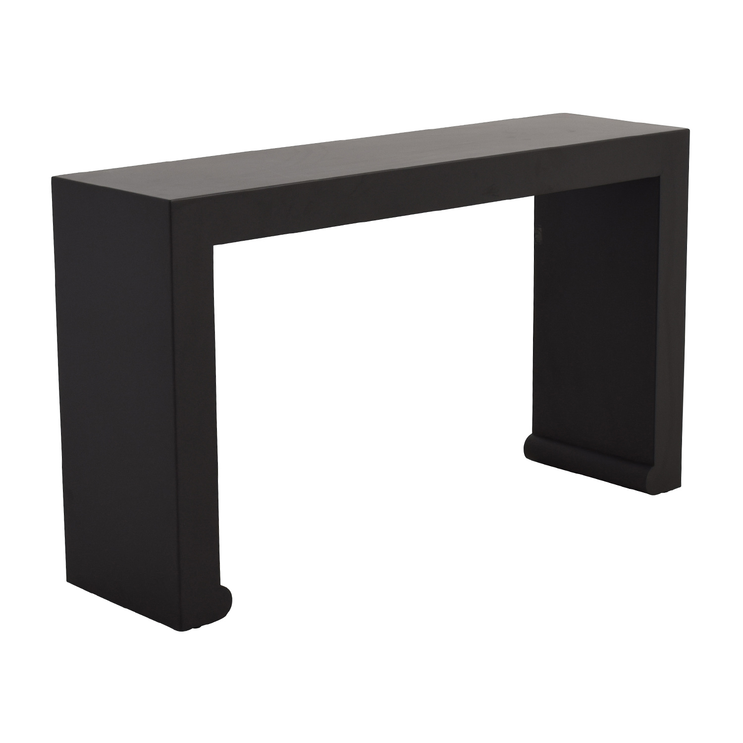 OFF Room And Board Room Board Brooklyn Steel Console Table - Room and board console table