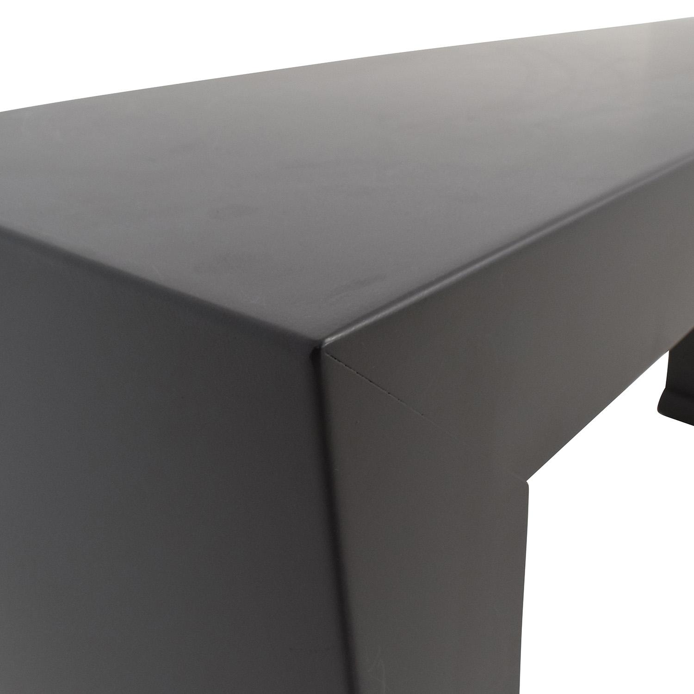 52 off room and board room board brooklyn steel console table buy room board brooklyn steel console table room and board tables geotapseo Choice Image