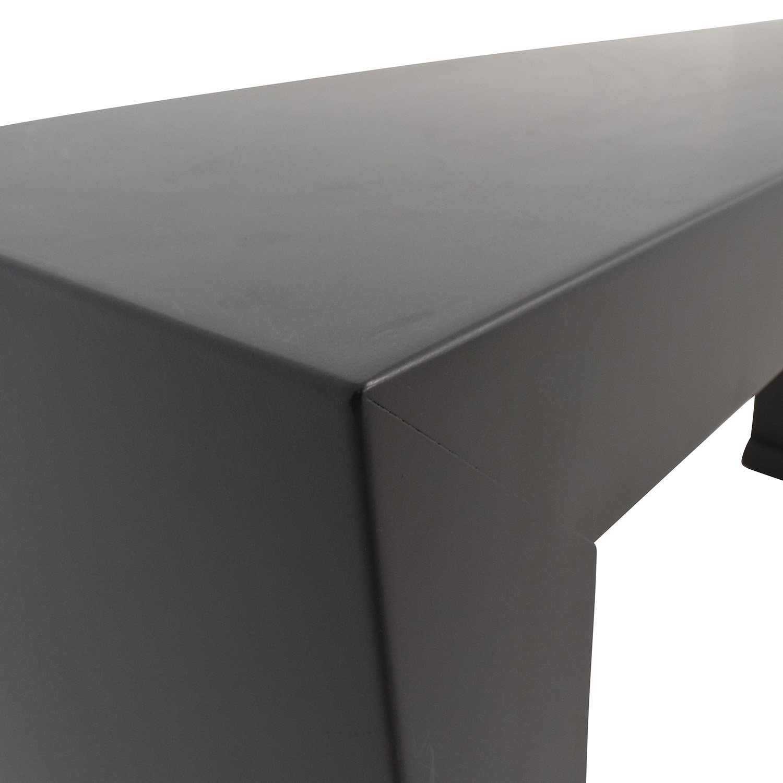 Room and Board Room & Board Brooklyn Steel Console Table on sale