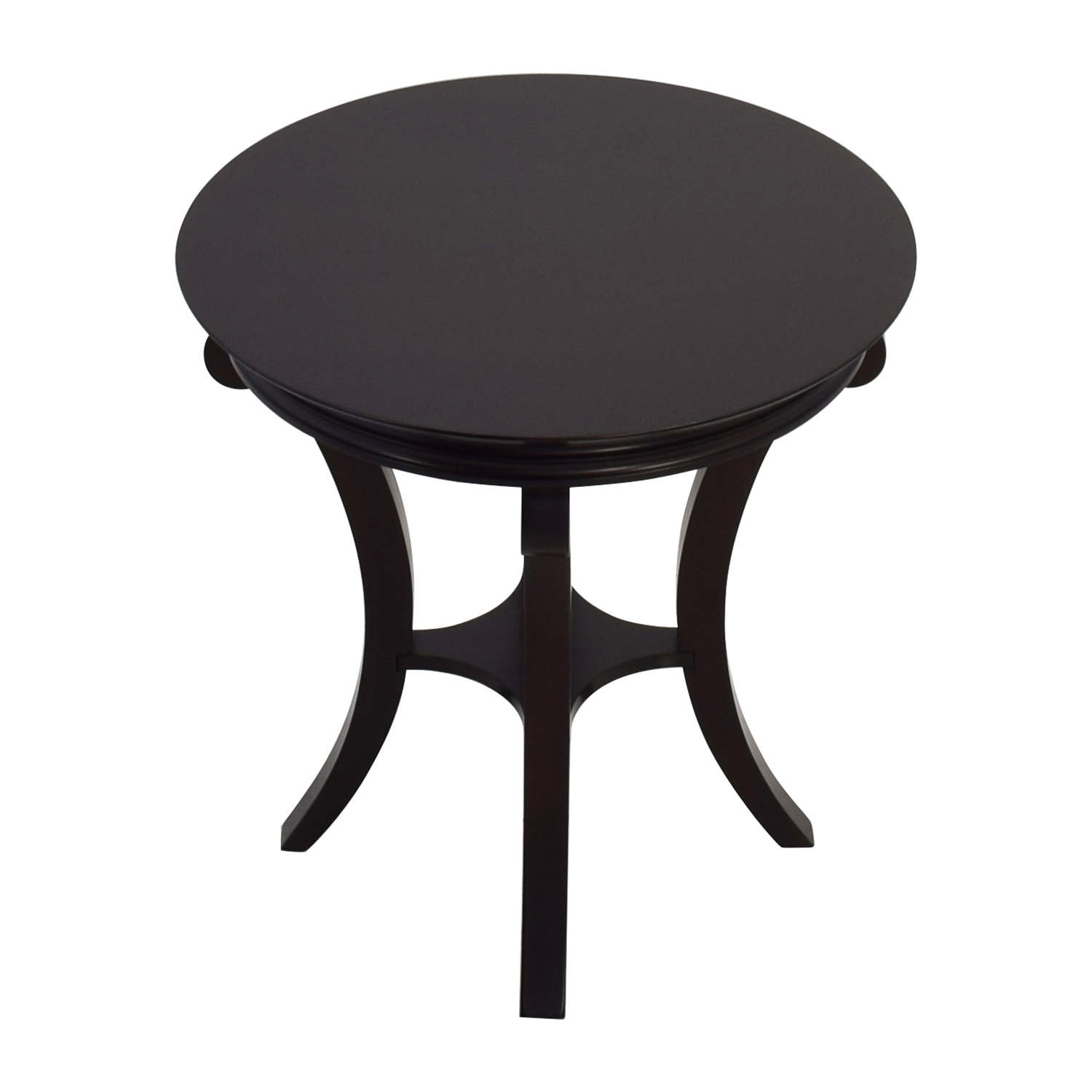 shop Round Mahogany Side Table Accent Tables